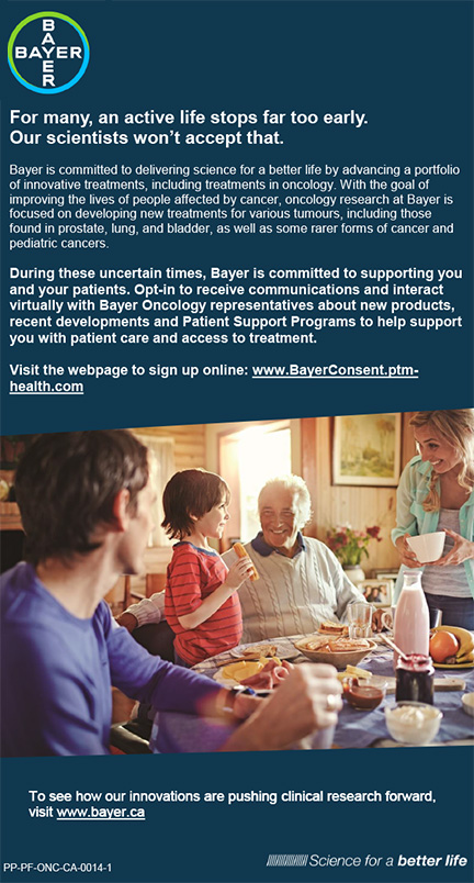 Bayer Oncology Consent
